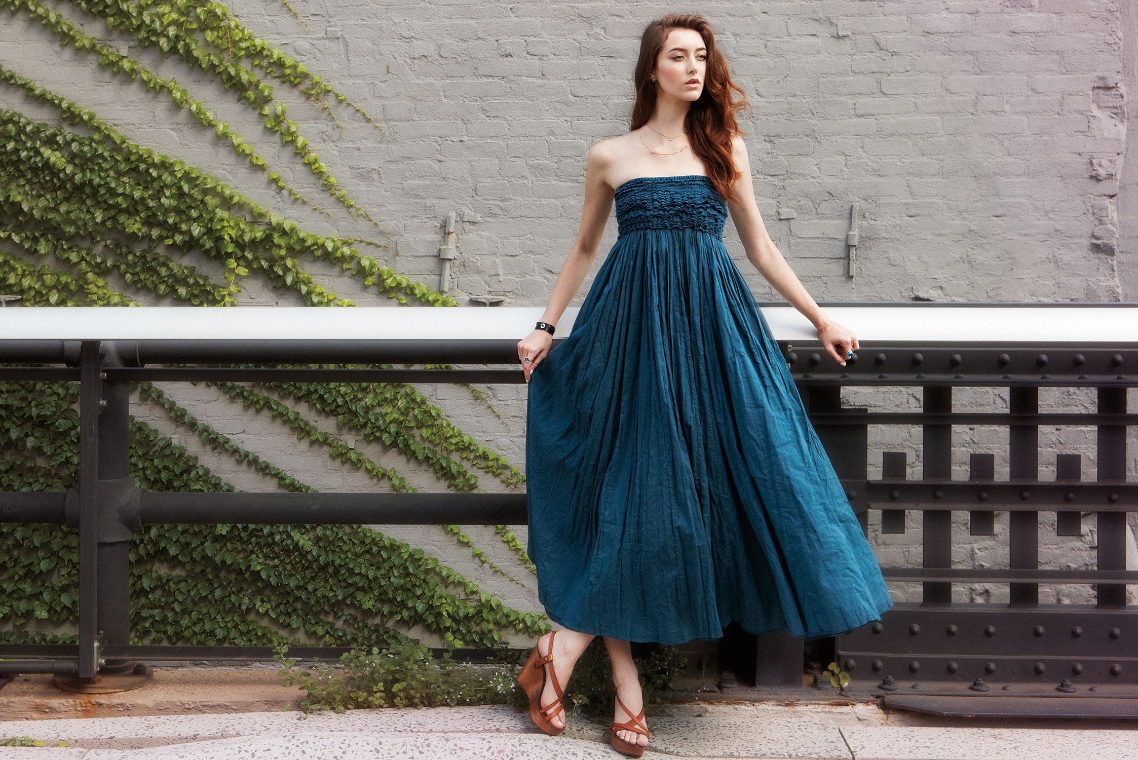ジュエリーのように華やかなリゾートドレス - MARIHA